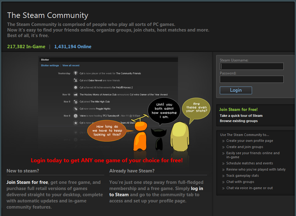 Steam Site