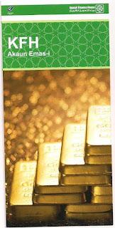 Membuka akaun pelaburan emas di Kuwait Finance House