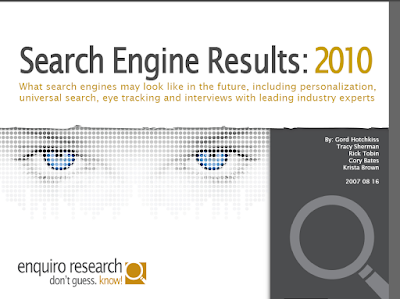 Search 2010 Enquiro Whitepaper