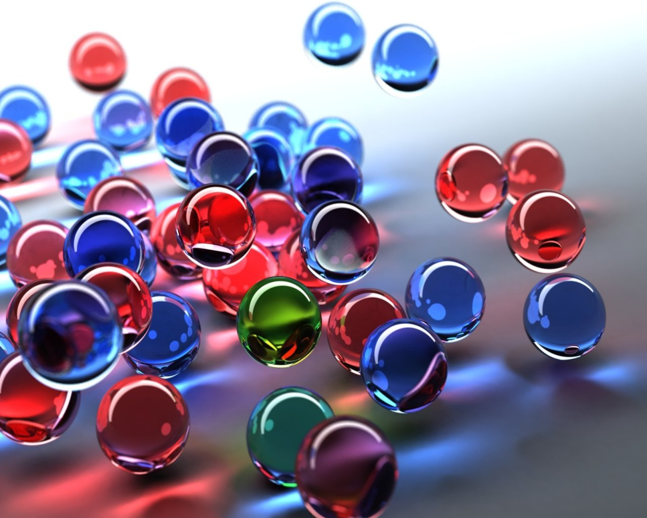 3d Bubbles Wallpaper: Art Wallpaper