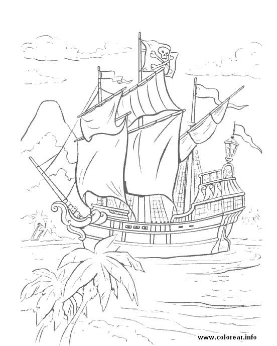 El Club De Los Piratas Del Lope: Dibujos Para Colorear