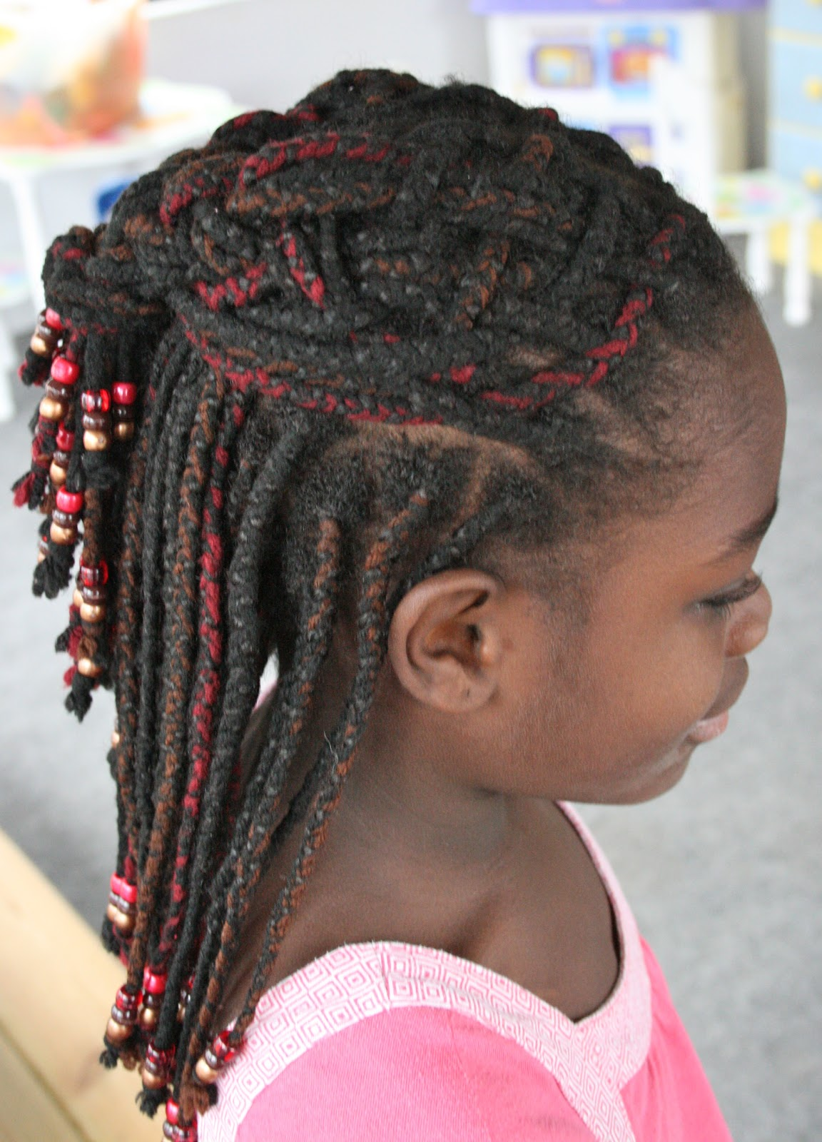 Keep Me Curly!: Something like a basket weave.