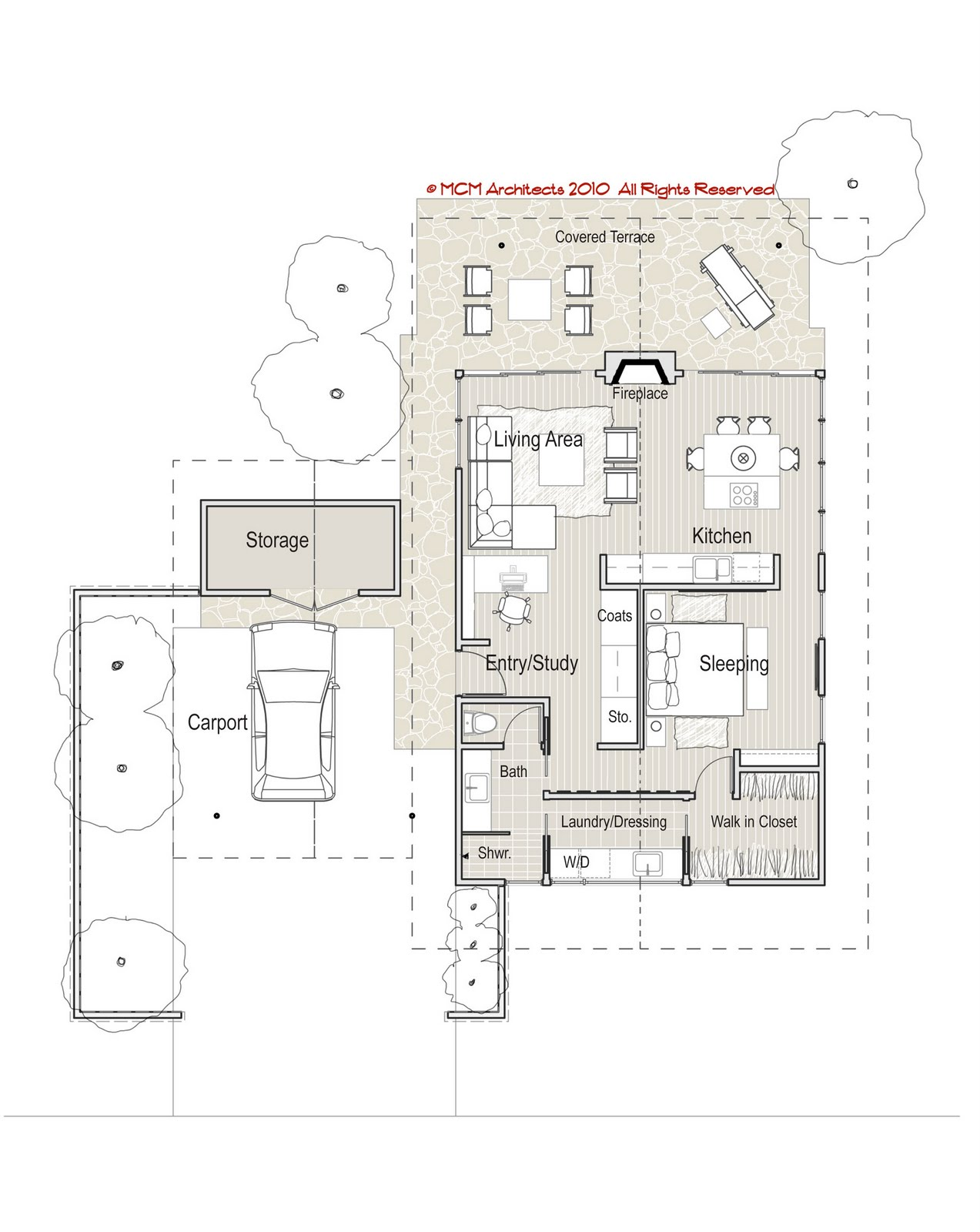 Mcm Design Minimum House Plan