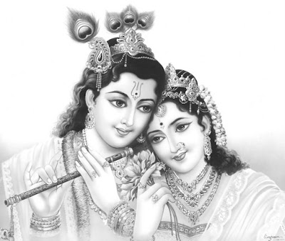 Lord Shree Krishna and Radha Picture