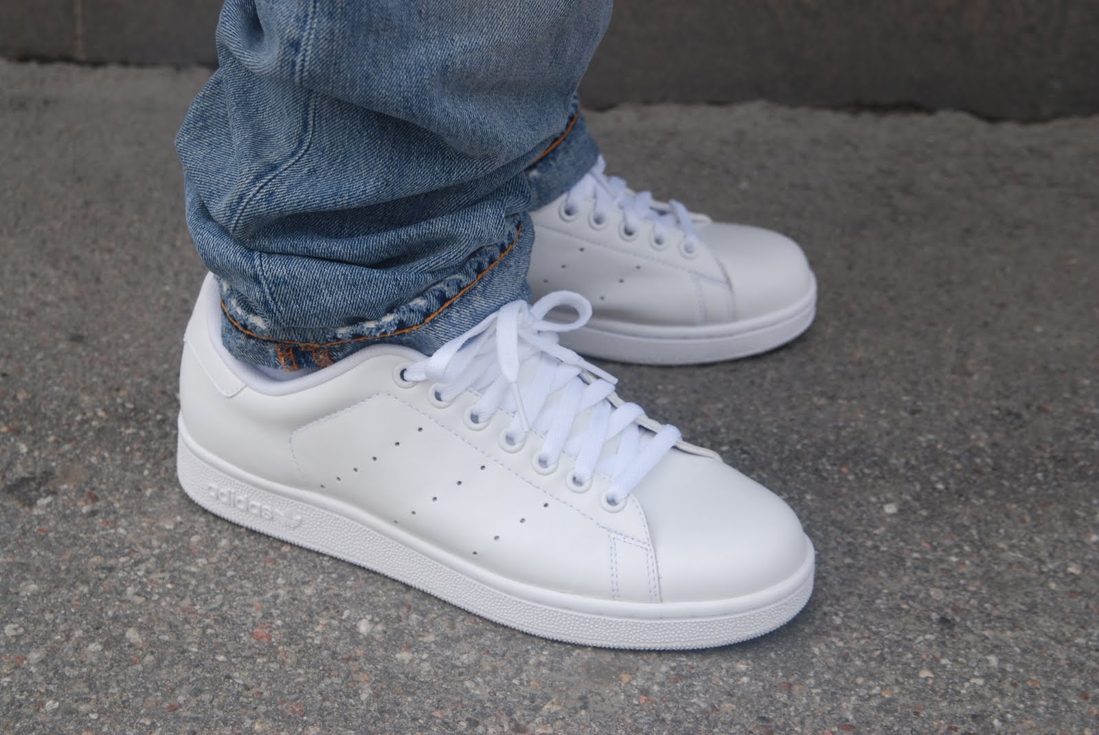 Adidas Stan Smith On Foot