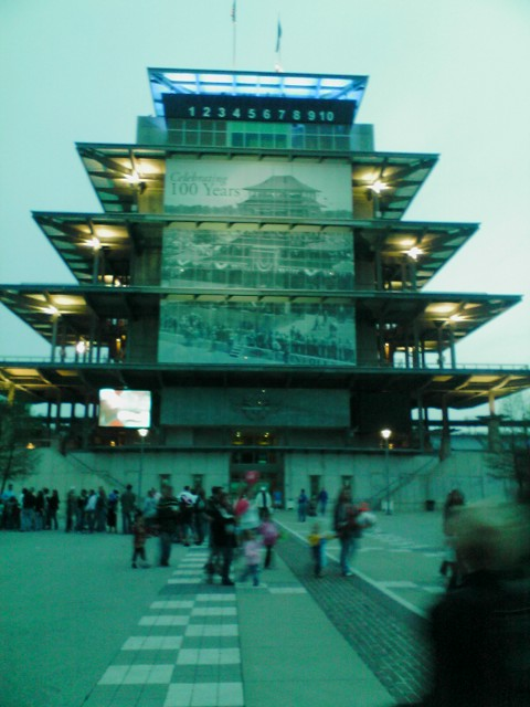 Indy 500 pavillion Indianapolis Race Track Start