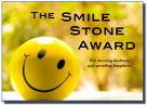 My 5th blog award- the smile stone