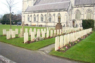 Graveyard, Canadian troops