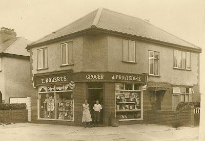 T. Roberts grocer, Victoria Road, Ernest Street