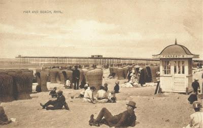 Beach sands pier