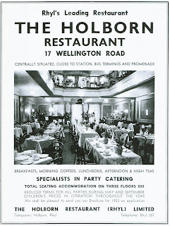 Holborn Restaurant, Wellington Road