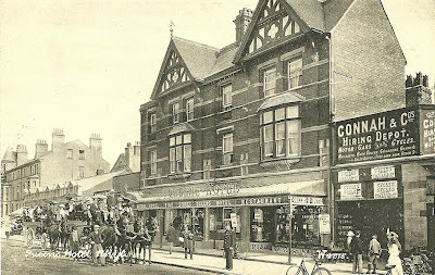 Queens Hotel, Connah & Co