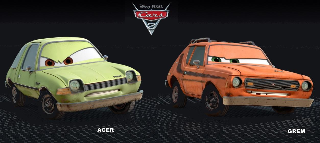 Cars 2 Grem And Acer Teaser Trailer