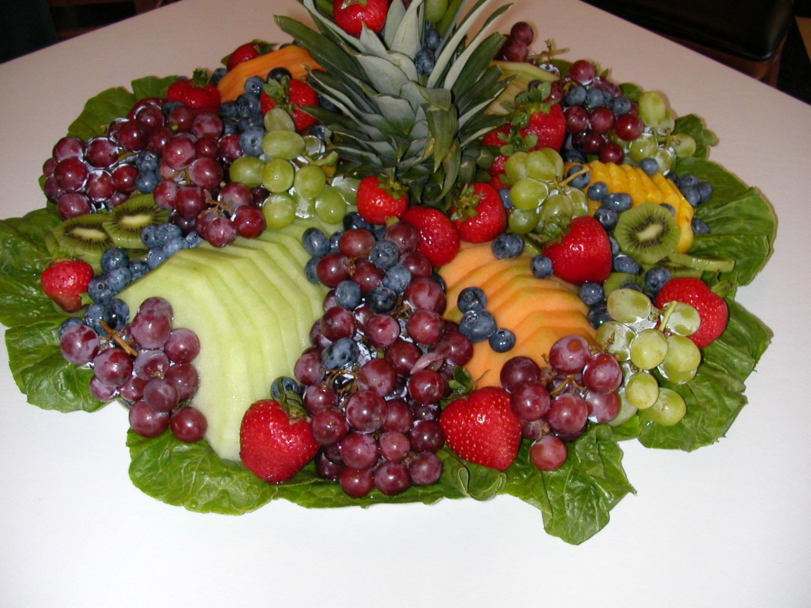 Vida Y Hogar Atractivo Centro De Mesa Con Frutas - Centros-de-mesa-de-frutas