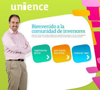 Red social de inversores y financieros Unience