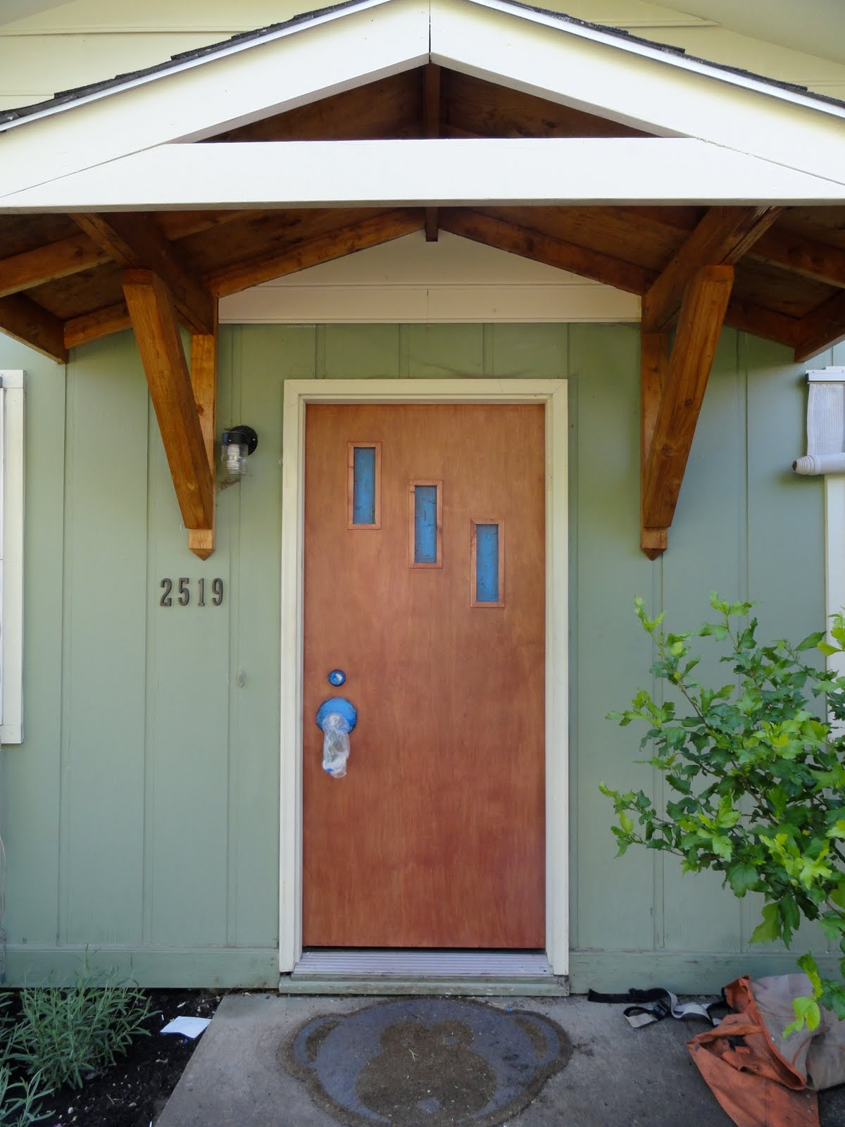 Eugene Modern Monkey: Mid-Century Front Door: Crestview
