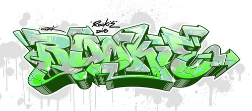 graffiti letters art