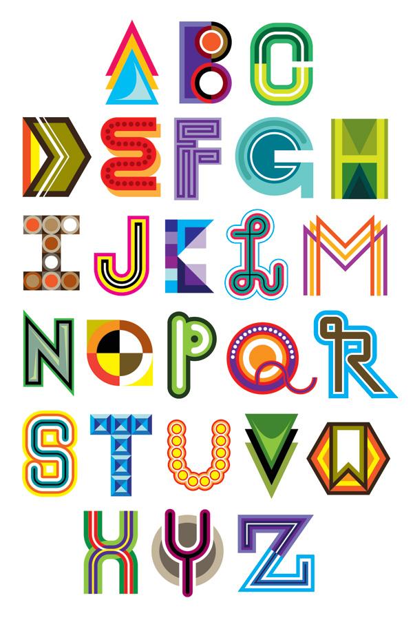 Graffiti Alphabet Letters A Z And Graphic Design