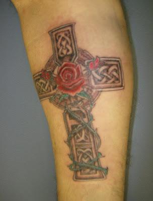 Celtic Cross Tattoo – Tattoo Connection