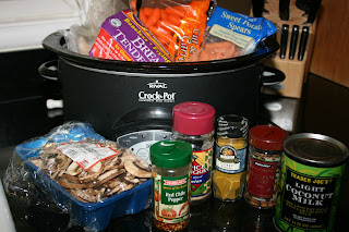 chicken curry crockpot ingredients