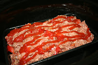 How to make moist, delicious meatloaf in your crockpot slow cooker from A Year of Slow Cooking website