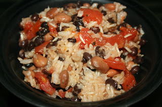 How to make One Pot Beans and Rice in the CrockPot Slow Cooker