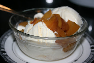 Fresh Peach Compote recipe. This is made in the slow cooker and is absolutely delicious and wonderful!