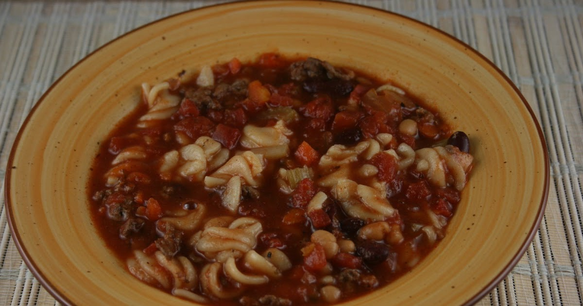 A Year Of Slow Cooking Crockpot Pasta Fagioli Recipe