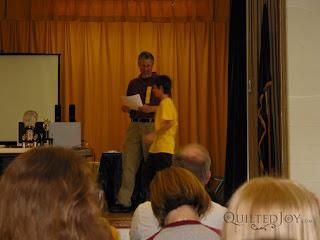 RocketMan at the awards ceremony