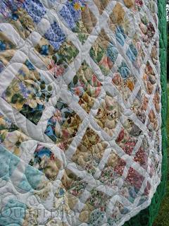 Garden Trellis Quilt featuring garden beauty