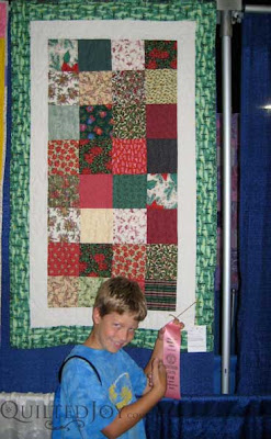 Nick wins fourth place at the KY State Fair, Junior Divison