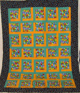 Monster Quilt, quilted by Angela Huffman