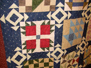 Sue's Underground Railroad Quilt, quilted by Angela Huffman