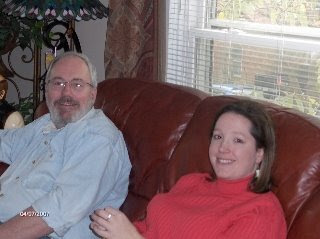Frank Horton and Angela Huffman