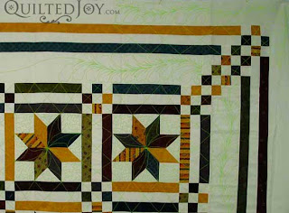Angela uses a Wacom Tablet and Photoshop to audition quilting designs - QuiltedJoy.com