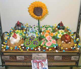 Chicken Cake entry at the 2010 KY State Fair - QuiltedJoy.com