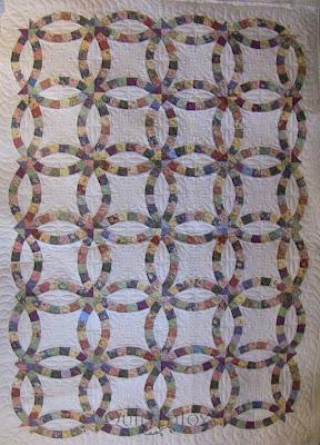 Double Wedding Ring Quilts For Sale 12 Popular Debbie us Double Wedding
