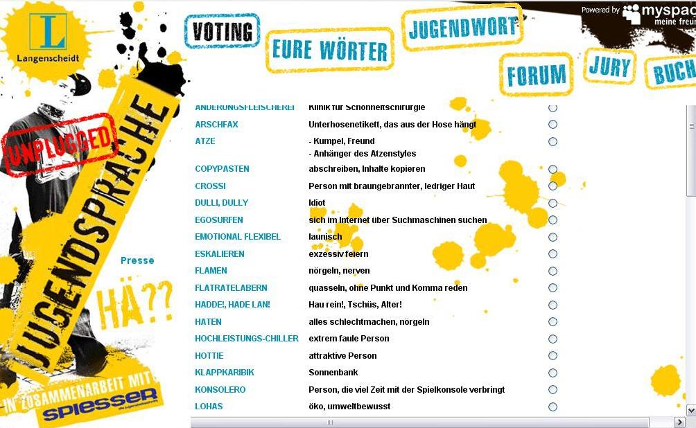 Jugendwort 2009