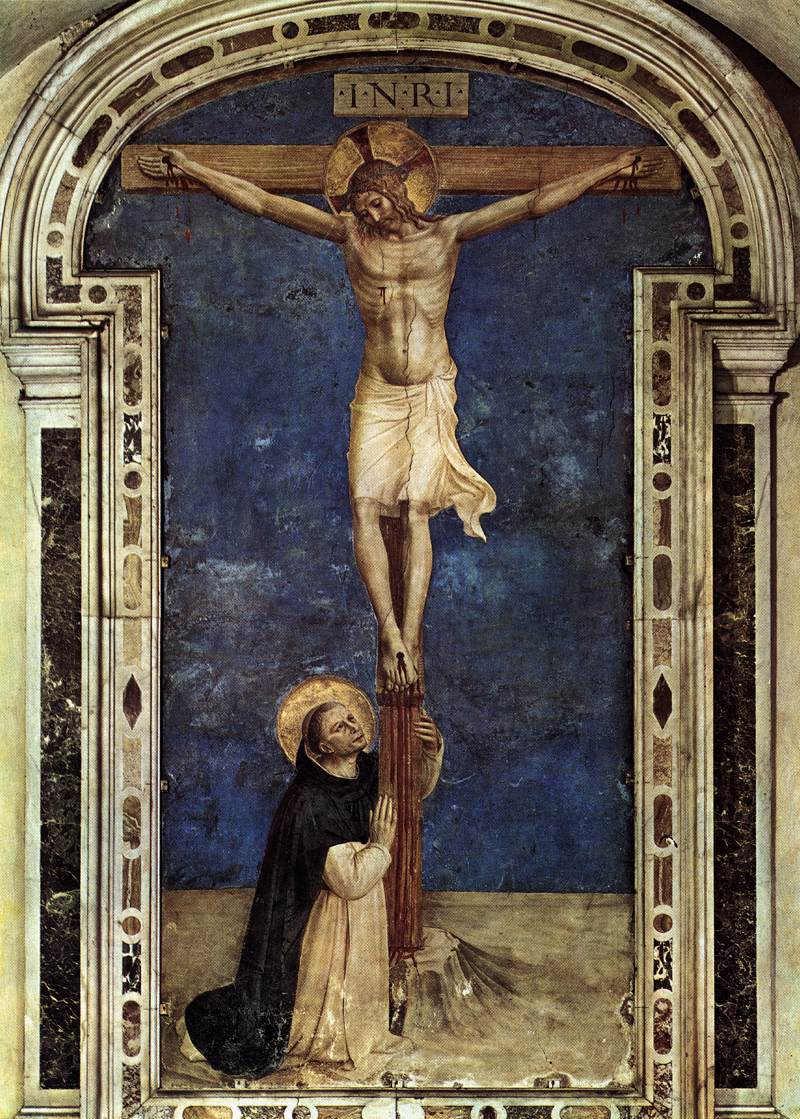 The Crucified Lovers: IDLE SPECULATIONS: The Blessed Angelico