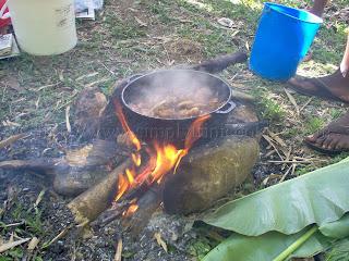 River lime cook Trinidad and Tobago