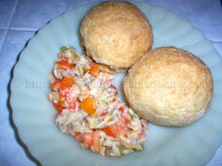 Saltfish Buljol, buljol recipe