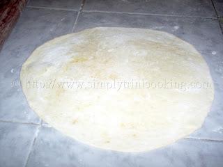 Dhal Puri Roti