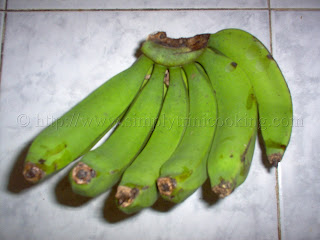 Green Fig (Banana) Salad