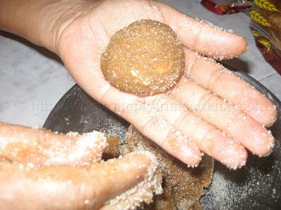Tambran (Tamarind) Ball