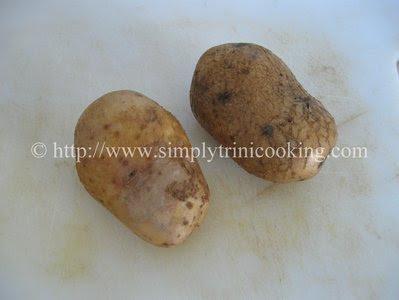 Potato Omelet, Trini Style
