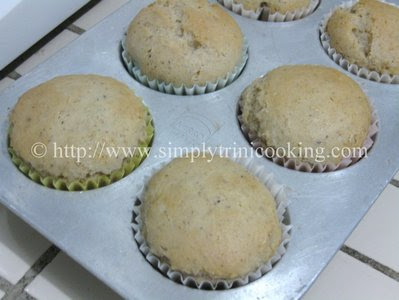 GFCF Ginger Muffins
