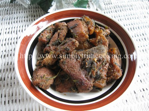 Trini Garlic Pork, Garlic Pork