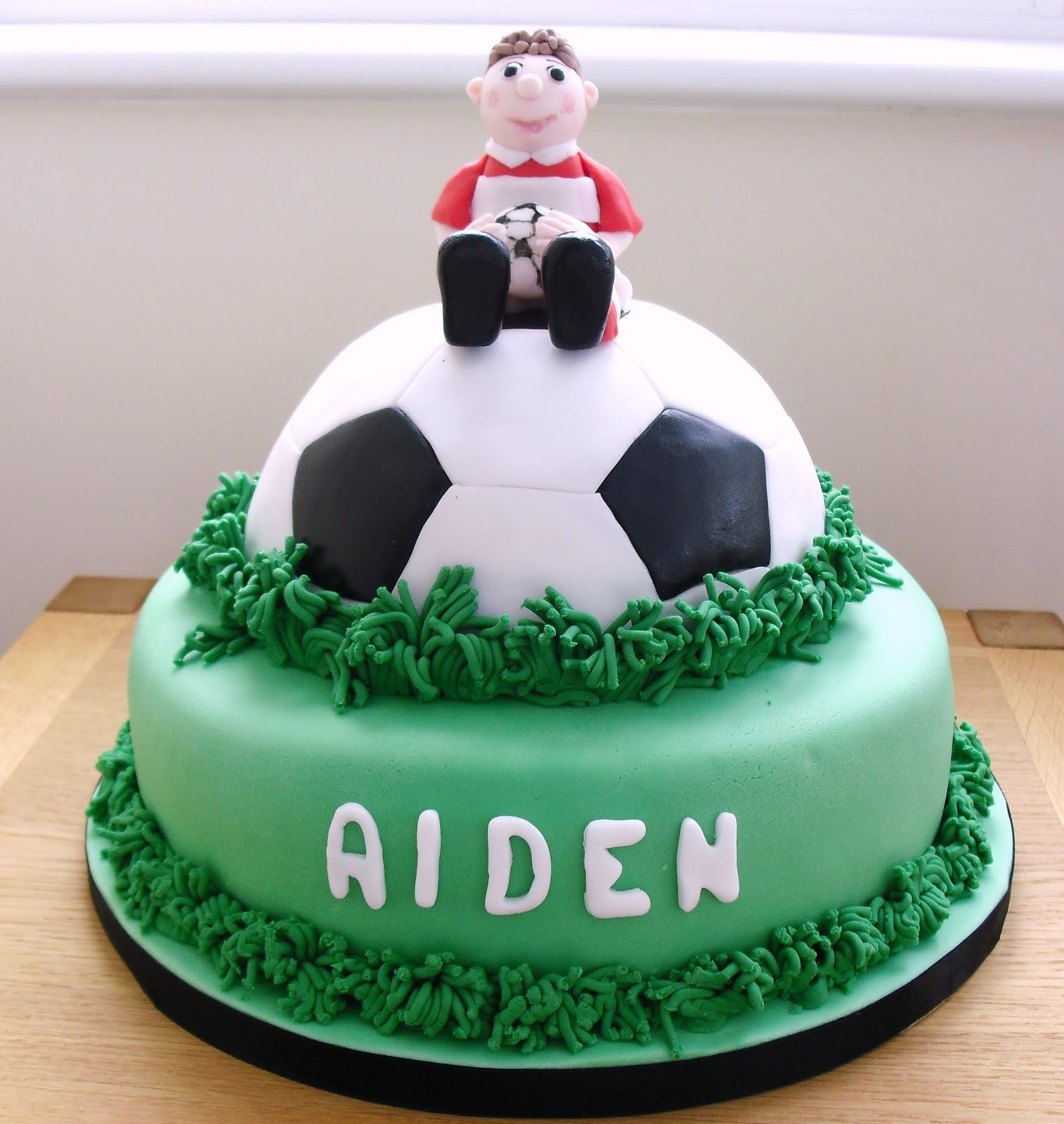 Boys Bedroom Ideas Sports Cake Walk Football Cake