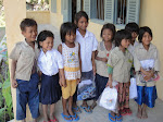 Muskoka School Kids wth New Uniform & Shoe Packages