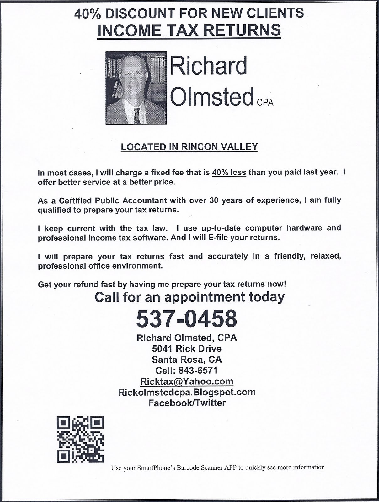Richard Olmsted, CPA